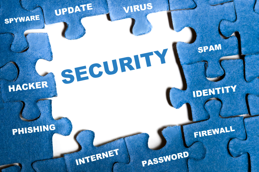 Multiple layers of security are required to make it difficult for the criminal