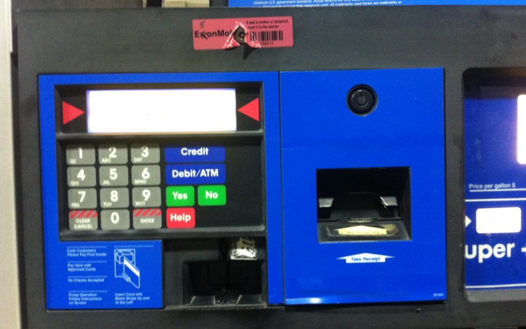 Don't be a victim to card breaches at gas stations